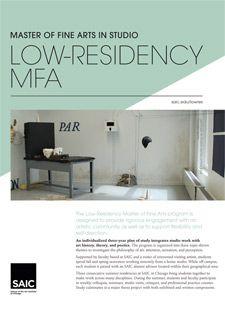 Master of Fine Arts in Studio: Low Residency