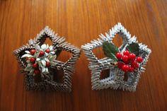 3D Origami Christmas Stars