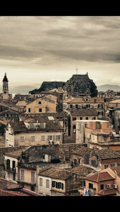 Corfu old town by Xristoforos Corfu Town, Corfu Island, Corfu Greece, Types Of Architecture, Greece Islands, Travel Memories, Cool Photos, Amazing Photos, Greece Travel