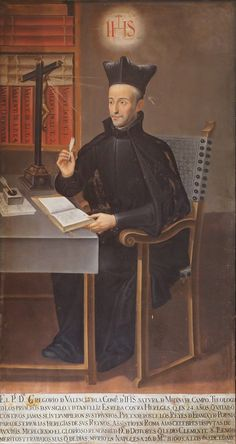 Gregorio de Valencia. Pintor anónimo. Iglesia de San Miguel y San Julián (Valladolid).