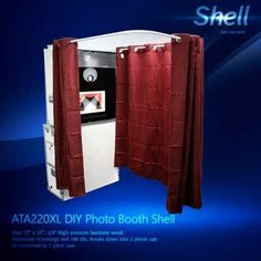 T12 20 photobooth enclosure patent pending locking design for sale if do it yourself is your specialty or if you simply need to feature your existing instrumentation to our beautiful model a shell this product will solutioingenieria Choice Image
