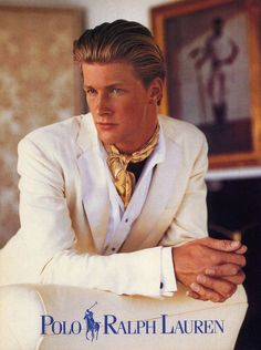 ideas style preppy homme ralph lauren for 2019 80s Men's Fashion Trends, 80s And 90s Fashion, Urban Fashion, Fashion Brands, Street Casual Men, Men Casual, Casual Menswear, Casual Outfits, Suit Fashion