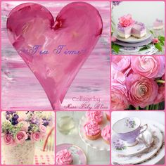 Lovely hint of pink,thanks sweet Cheryl ♥ Today -Pinks,Lavender,Green,White/Cream ♥ ~ Dee