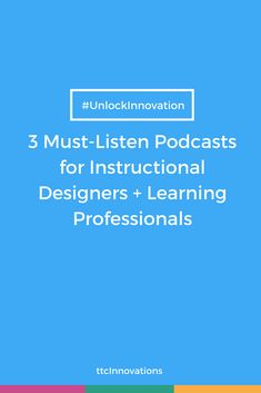 When you're crunched for time, listening to industry-specific podcasts can be the most efficient (and fun) way for you to learn on the go. We've rounded up some of our favorite podcasts for instructional designers and learning professionals to help you stay in the know on the latest tools and trends in the training world. Listen here!