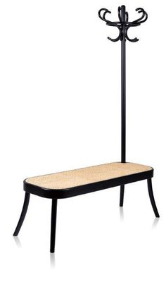 Coat Rack Bench by Front