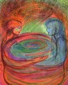 75 私の望みや悲しみ My hope and sorrow.  坐カフェで塗ったものの出来上がり。  SoulTouch Coloring Journals created by Deborah Koff-Chapin.  Colored by 田中 洋一郎 ( Yo+ichirou Tanaka )  #タッチドローイング #TouchDrawing #SoulTouch塗り絵 #SoulTouchColoringJournals #ソウルタッチ塗り絵 #コロリアージュ #大人の塗り絵 #coloriage #仙台 #sendai #coloring #creativelycoloring #coloringforadults #coloringbook #coloringbookforadults #coloringforadult #おとなの塗り絵 #おとなのぬり絵 #おとなのぬりえ #adultcoloringbook #プリズマカラー #カリスマカラー #prismacolor #karismacolor #透明クレヨン #clearcrayon