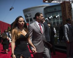 Good Lord what a Power couple! Roman Reigns Wife, Roman Reigns Family, Real Tv, Wwe Couples, Wwe Superstar Roman Reigns, Roman Reings, Wwe World, Red Carpet Event, Professional Wrestling