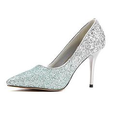 Women's Shoes Pointed Toe Stiletto Heel Pumps with Sequin Wedding Shoes More Colors available - GBP £ 31.49