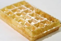 gaufre au sucre glace thermomix