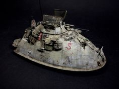"L.R.D.G. ""Sand Stalker"" Sdh. 222F / Maschinen Krieger Ma.K. SF3D Hexamodel resin kit 1/35 SciFi What if...!? WWIII by ANDIGO"