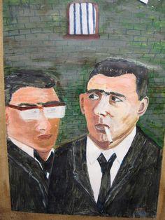 Kray twins | prison art