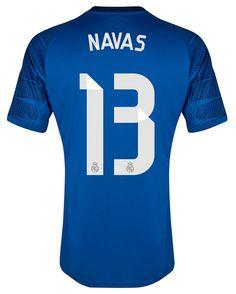 Camiseta Keylor Navas Real Madrid 2014-15