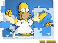 Homer Simpson Yapboz