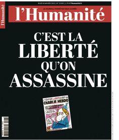 L'Humanité 8 Janvier 2015 #CharlieHebdo @humanite_fr