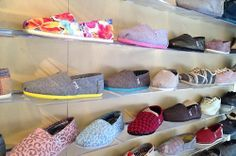 Toms shoes are comfortable and fashionable.Love them.