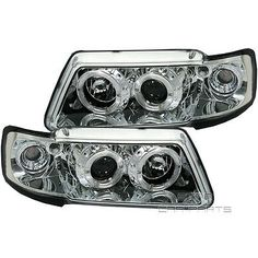 #Angel eyes scheinwerfer #chrom audi a3 typ 8l #*96-00,  View more on the LINK: http://www.zeppy.io/product/gb/2/191806233083/