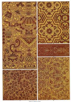 French Renaissance Block Printing and Embroidery