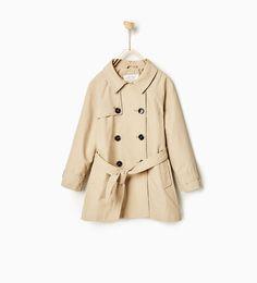 Basic trench coat from Zara $49.90