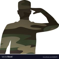 Military figure avatar camouflage isolated icon vector image on VectorStock Army Photography, National Day Saudi, 1 Clipart, Egypt Flag, Soldier Silhouette, Perspective Photography, Army Wallpaper, Military Figures, Drawing Reference Poses