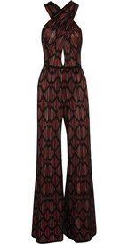 M MissoniWide-leg cotton-blend crochet-knit jumpsuit