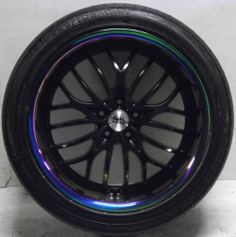 "4 BK797 20"" Black Alloy Wheels Worn Tyres Mercedes 5x112 275 40 20 2754020 **save on Tyres 01392 20 30 51 **"