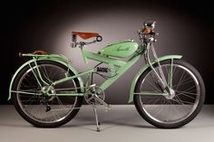 These exquisite electric bikes made with vintage parts from the 1950s