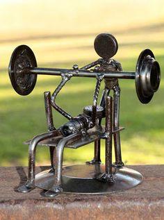Easy Welding Projects Tips; No-Fuss Advice Of DIY Welding - Some Thoughts - Thenton Welding Art Projects, Welding Crafts, Diy Welding, Metal Welding, Metal Crafts, Metal Art Sculpture, Steel Sculpture, Deco Originale, Steel Art