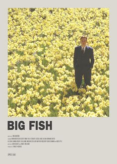 Big Fish Minimal Movie Poster