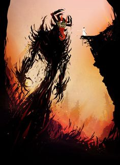 (I feel like Jack right now, compared to my stresses up against everything that wants to bring me down) AKU! by ChasingArtwork on DeviantArt