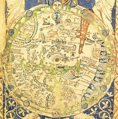Pin by yulia zvezdina on pinterest psalter map a map of the world with jerusalem at the centre and the gumiabroncs Images