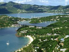 Nelson's Dockyard, Antigua. The marina was named after Horatio Nelson who lived here from 1784-1787.
