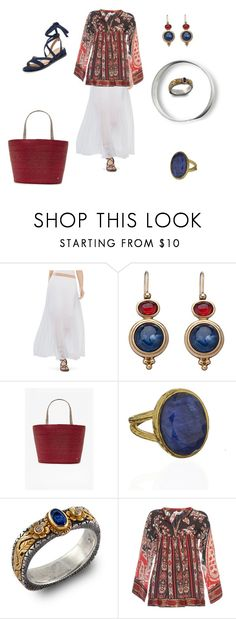 """""""Ethnic"""" by mfpblau ❤ liked on Polyvore featuring BCBGMAXAZRIA, Carolee, French Connection, Monsoon, Emma Chapman, Étoile Isabel Marant and Alex + Alex"""