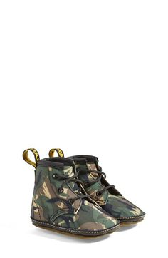Dr.+Martens+Camo+Crib+Bootie+(Baby)+available+at+#Nordstrom