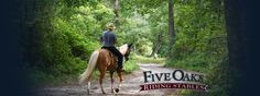 Five Oaks Riding Stables • Ride one of our horses and experience Smoky Mountain Nature like you have never before! #fiveoaks