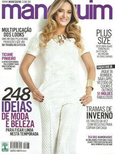 ce9766c61a Revistas Manequim + Moldes Costura Roupa Vestido - Avulso a   5.9.Coleções  e Comics