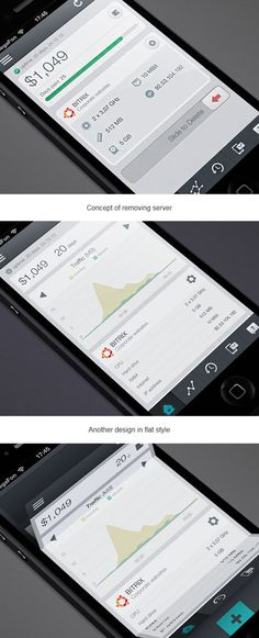 VDS app is still a work in progress. Clean UI and an amzing menu concept with folding effect. Check it out! http://www.behance.net/gallery/VDS-iPhone-app/7834225