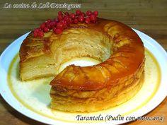 La cocina de Loli Domínguez: Tarantela (Pudín con manzana)