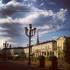 Piazza Vittorio Veneto nel Torino, Piemonte