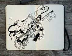 Artwork of a keyblade so beautiful