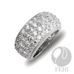 FERI Diamond Rain  Global Wealth Trade Corporation - FERI Designer Lines Sterling Silver Pendants, Plating, Rings For Men, Engagement Rings, Stone, Diamond, Wealth, Rain, Jewelry