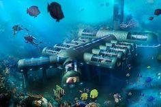 Un hôtel sous-marin pour sauver les récifs coralliens