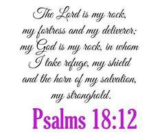 Psalms 18:12