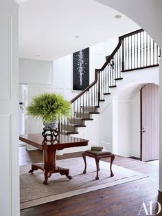 A Tudor Revival Home in Washington, D.C. is Updated to Exude a Contemporary Attitude Photos | Architectural Digest #PedestalsIdeas #contemporaryarchitecture