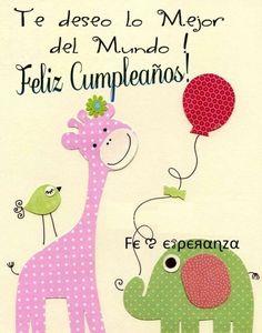 Postales de Saludos Feliz Cumpleaños http://enviarpostales.net/imagenes/postales-de-saludos-feliz-cumpleanos-20/ felizcumple feliz cumple feliz cumpleaños felicidades hoy es tu dia