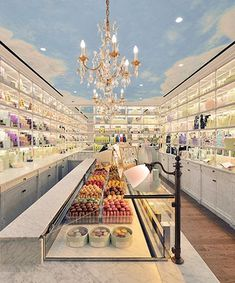 laduree boutique in Paris. When I lived in Paris I would send boxes home for friends and family. You can also find these in the Paris CDG Airport, or in other international airports in duty free.