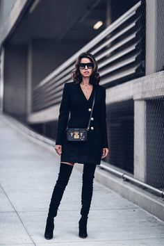 Over-the-Knee Boots - 50 Outfit Ideas for the Boots You Already Own - Photos