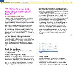 10 things to love and hate about Microsoft Office 2013