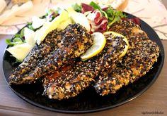 Ugolinon Seikkailut: Sesamkuorrutettua Kanaa Steak, Food, Meals, Yemek, Eten, Steaks