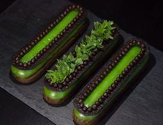 Mint èclair #chocolate #eclair #choux #pastrychoux