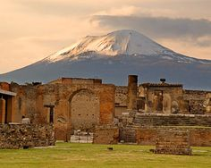 I am a history buff and an amateur archaelogist. And I've been to Pompeii!